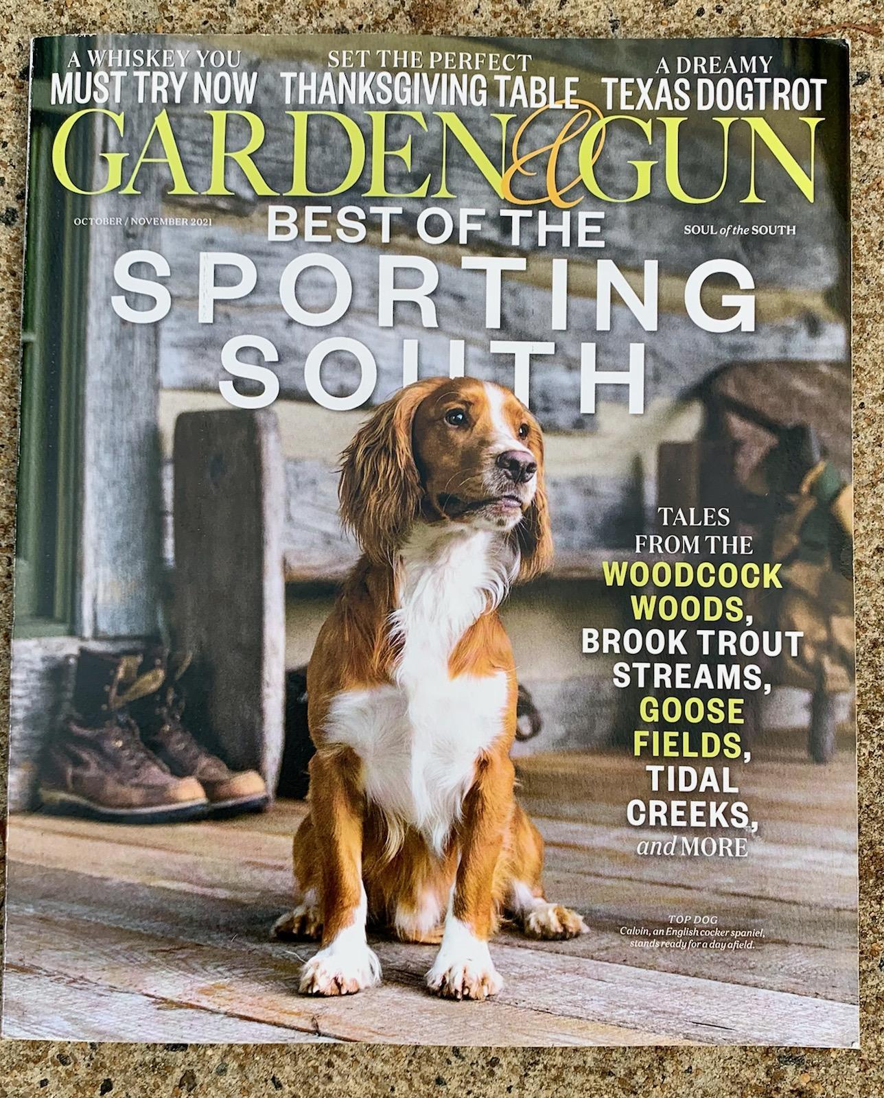 Garden and Gun - Article about Sundial